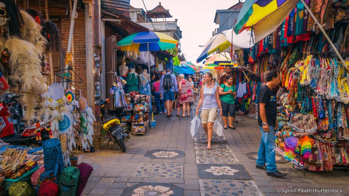 Kuta Art Market at Bali