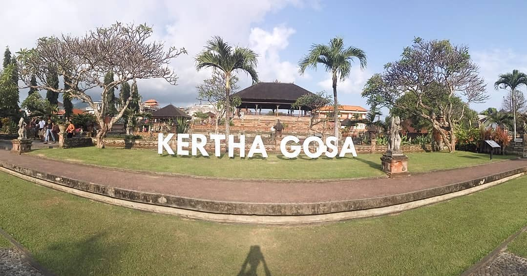Kertha Gosa Park in Klungkung