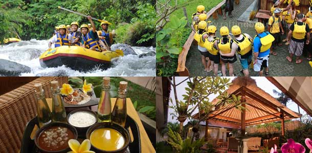 White Water Rafting Telaga Waja River