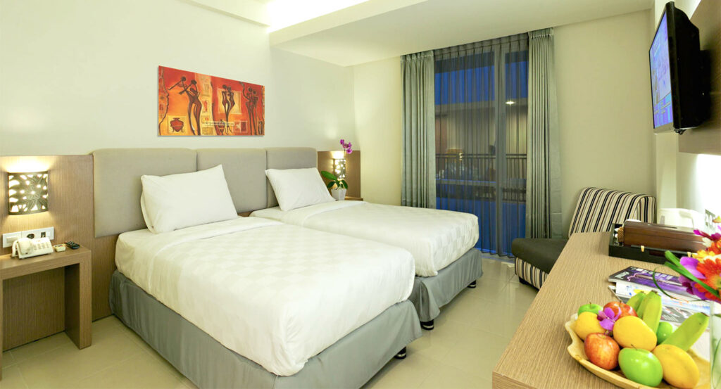 Rooms at Euphoria Kuta Hotel