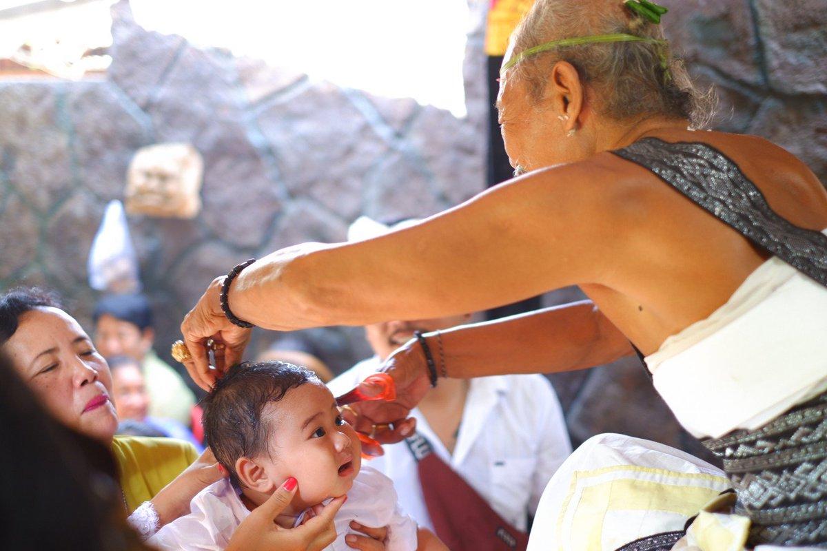 Otonan Ceremony in Bali