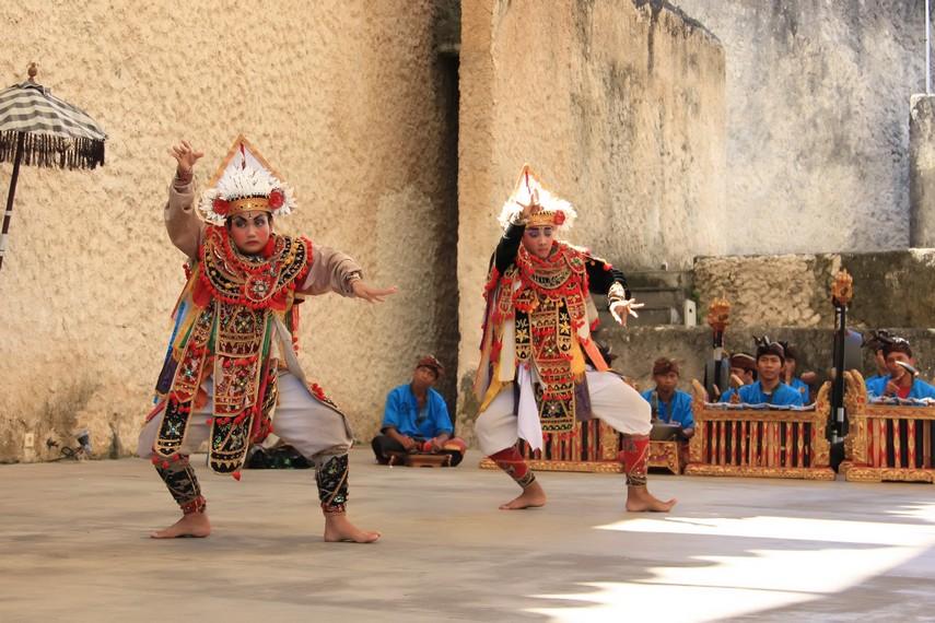 Baris Dance Bali